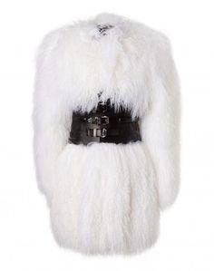 Phillip Plein faux fur coats black white (2)