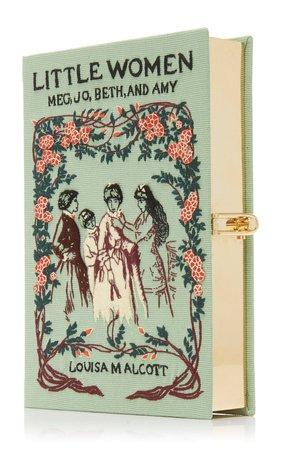 M'O Exclusive Little Women Book Clutch by Olympia Le-Tan   Moda Operandi