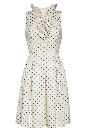 Harper Rose Metallic Polka Dot Fit & Flare Dress (Regular & Petite)   Nordstrom