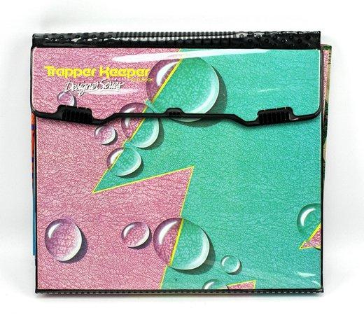 1990s Vintage Trapper Keeper Designer Series 3-Ring Binder