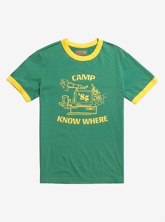 Stranger Things Camp Know Where Ringer T-Shirt