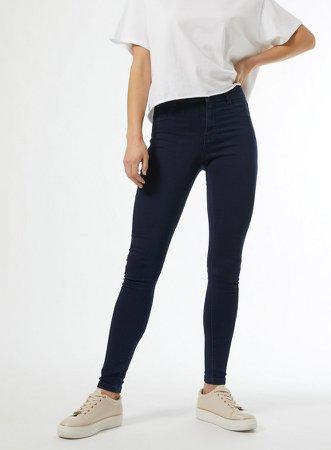 Organic Blue Black Frankie Denim Jeans