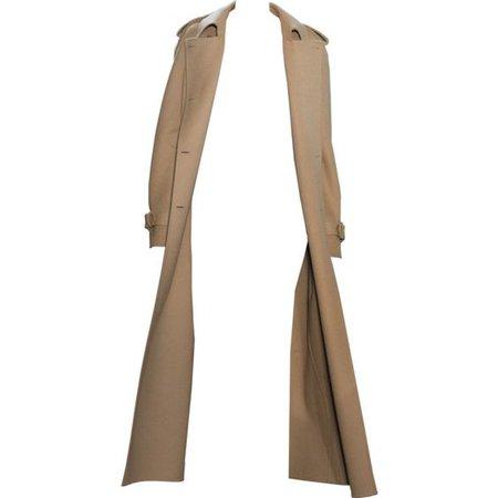 Long Beige Trenchcoat