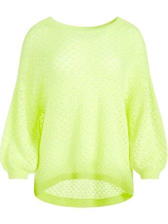 Alice+Olivia open-knit cashmere jumper - FARFETCH