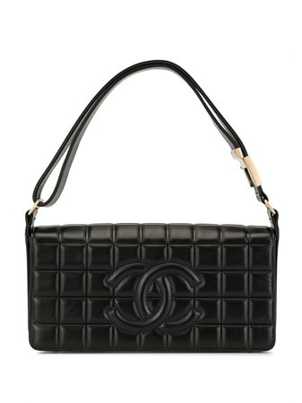 Chanel Pre-Owned Sac Porté Épaule Choco Bar - Farfetch