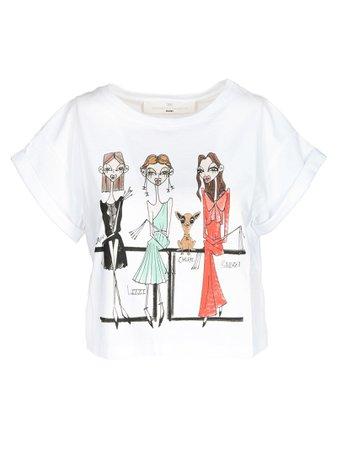 Elisabetta Franchi Celyn B. Printed T-shirt