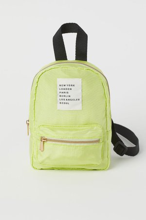 Shoulder Bag - Yellow