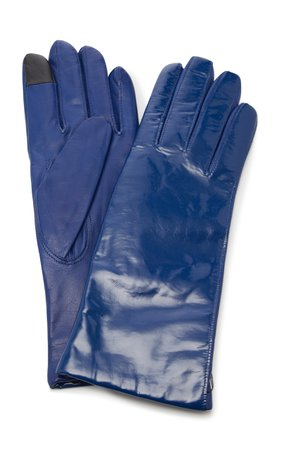 Maison Fabre Vinyl and Leather Gloves
