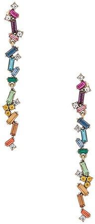Rainbow Duster Earrings