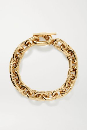Gold XL Link gold-tone necklace | Paco Rabanne | NET-A-PORTER