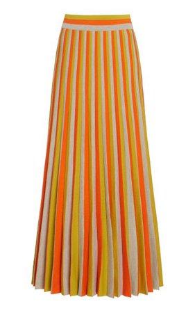 Dixie Merino Wool Knit Skirt By Gabriela Hearst   Moda Operandi