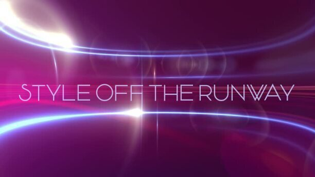 STYLE OFF THE RUNWAY logo