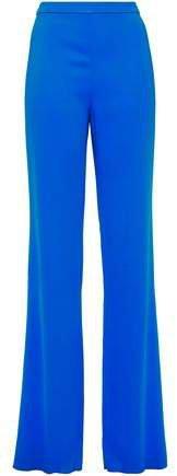 Stretch-crepe Straight-leg Pants