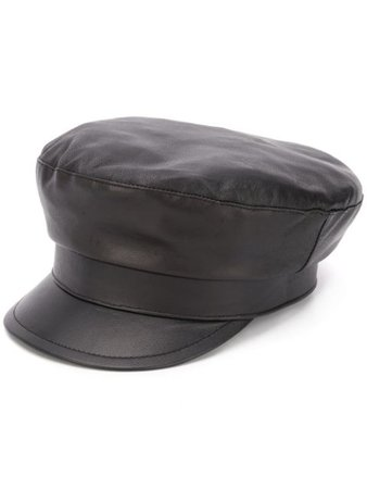 Ann Demeulemeester Fisherman Hat 20018606W407 Black | Farfetch