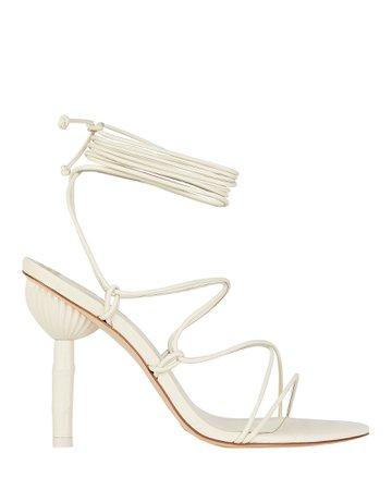 Cult Gaia Soleil Bamboo Heel Sandals | INTERMIX®