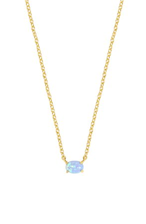 Ettika Blue Opal Pendant Necklace | Nordstrom