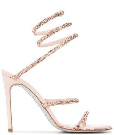 Cleo rhinestone-embellished sandals