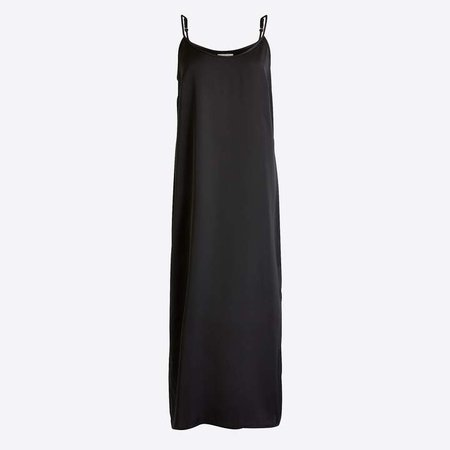 Mid-length slip dress