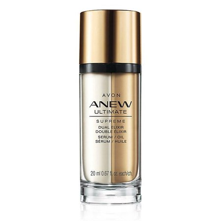 Anew Ultimate Supreme Dual Elixir - 3x More Powerful Than A Serum Alone