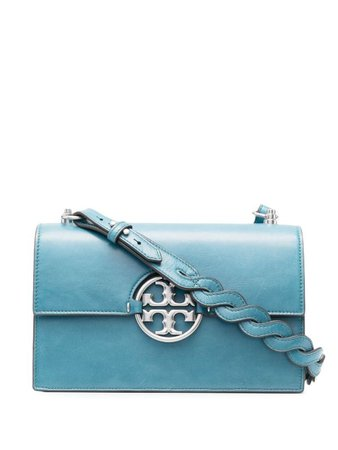 Shop Tory Burch Miller leather shoulder bag with Express Delivery - FARFETCH