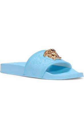Versace Palazzo Medusa Slide Sandal (Women) | Nordstrom