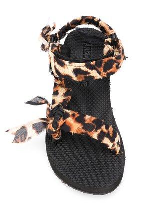 Arizona Love Leopard Print Sandals - Farfetch