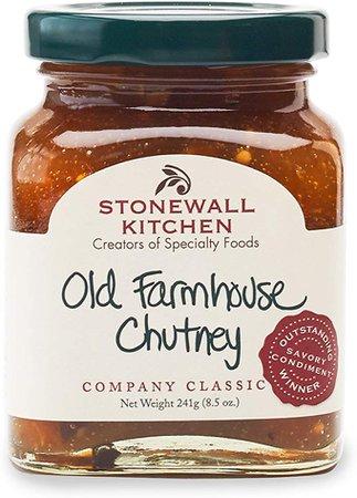 Amazon.com: Stonewall Kitchen Old Farmhouse Chutney, 8.5 ounces: Health & Personal Care