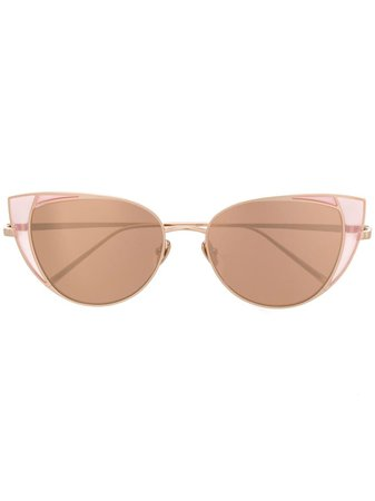 Linda Farrow 855 C6 Sunglasses Aw19 | Farfetch.Com