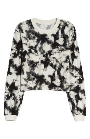 BP. Long Sleeve Crop Graphic Tee | Nordstrom