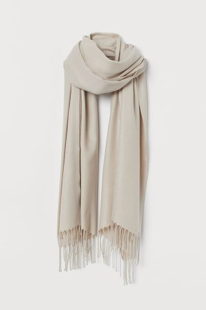 Woven Scarf - Brown