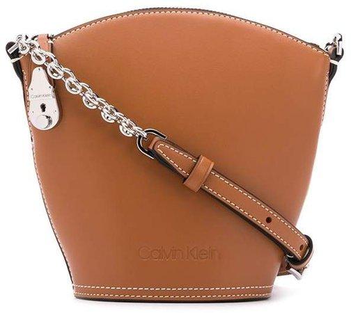 lock clasp shoulder bag