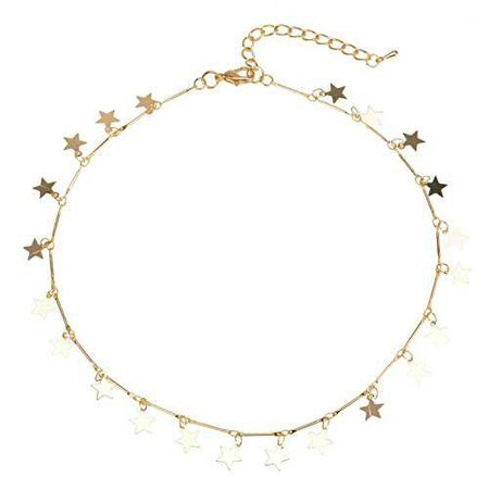 Lucky Star Choker Necklace
