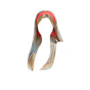 light brown hair blonde png headband