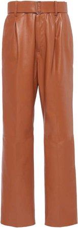 N21 Leather Pants