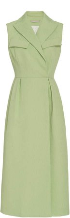 Emilia Wickstead Arly Sleeveless Crepe Dress