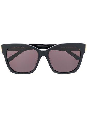 Balenciaga Eyewear Dynasty Solglasögon Med Fyrkantiga Bågar - Farfetch