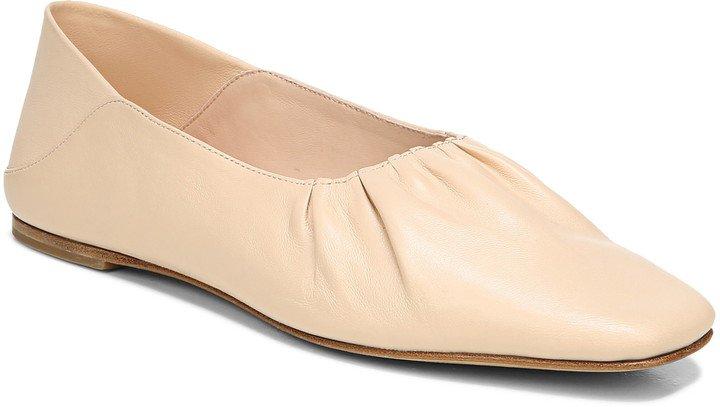 Kali Convertible Ruched Ballet Flat
