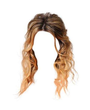 blonde beachy waves hair