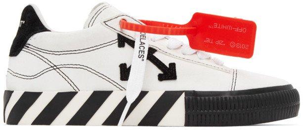 White Arrows Vulcanized Low Sneakers