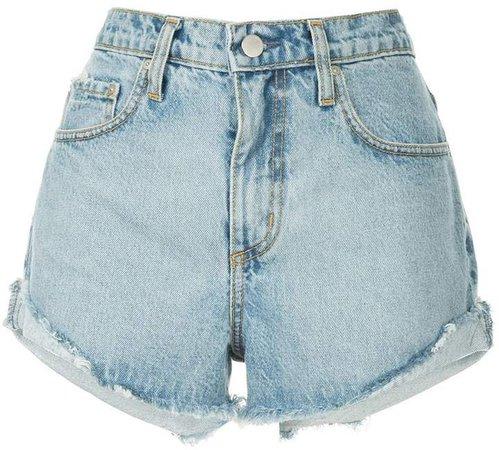 Nobody Denim Boho frayed denim shorts