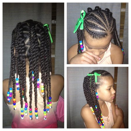 Little Girl Hairstyles African American Also Happy Hair Extensions - Ianicsolutions.com