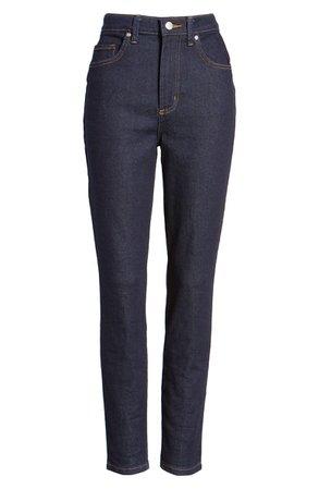 Lee High Waist Skinny Jeans (Retro Rinse) | Nordstrom