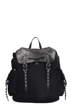 Rebecca Minkoff Bowie Backpack In Black Nubuck