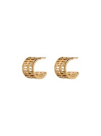 Givenchy G-Logo Hoop Earrings Ss20   Farfetch.com