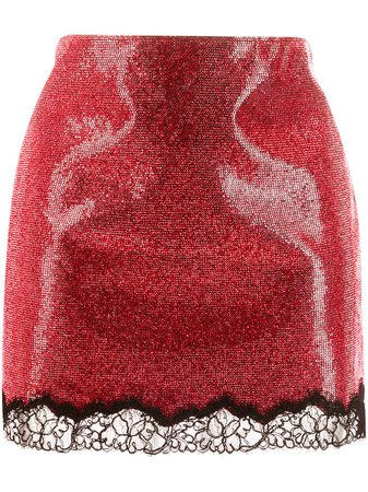 Philosophy Di Lorenzo Serafini Embellished Mini Skirt - Farfetch