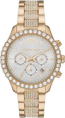 Layton Pave Chronograph Bracelet Watch, 42mm
