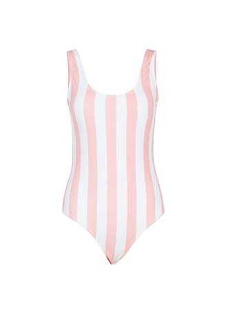 **Paper Dolls Pink Striped Swimsuit | Dorothy Perkins