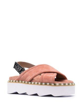 Mou crossover-strap Sandals - Farfetch