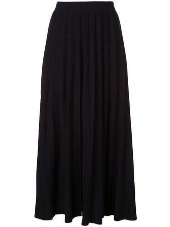 Gabriela Hearst Mitford pleated maxi skirt