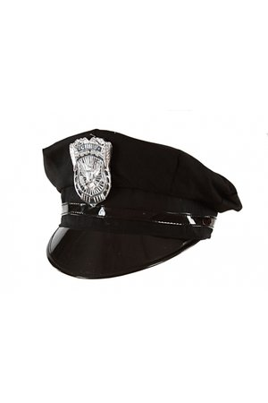 Costume police hat